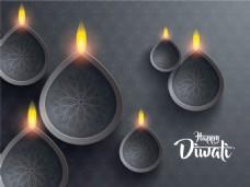 印度排灯节背景19)图片