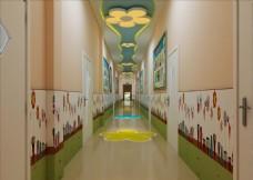幼儿园走廊
