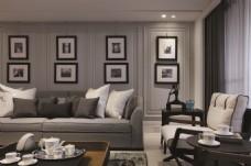 简约时尚家居客厅装修效果图