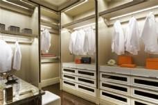 时尚室内衣柜间设计图