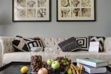 时尚客厅沙发设计图