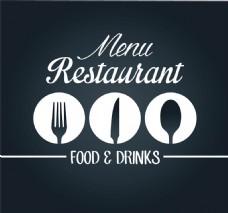 菜单餐具图标图片