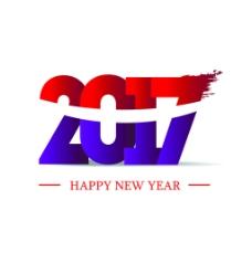 2017个性字体设计矢量素材