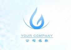 水滴logo设计