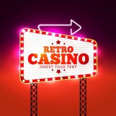 梦幻赌场信号灯背景