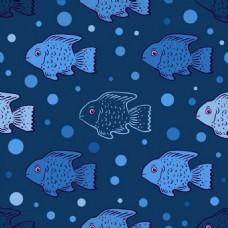 鱼背景素材