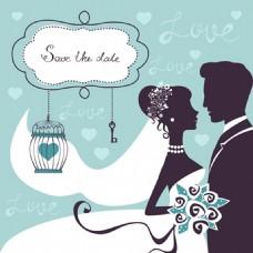 浪漫婚礼背景图