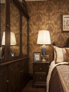 简约时尚卧室家装效果图