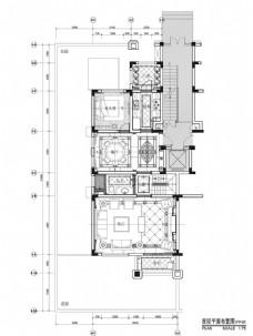 现代简约家装平面图
