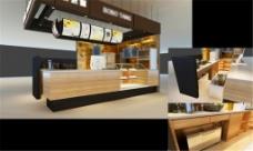 咖啡店3DMAX模型设计