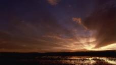 夕阳海边视频实拍视频