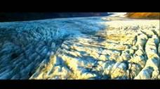 美丽的星球地貌河流冰山火山坑视频素材.3