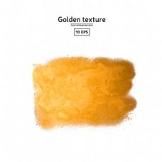 黄色水墨图片