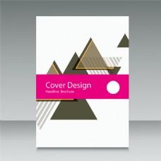 三角形简洁封面图片