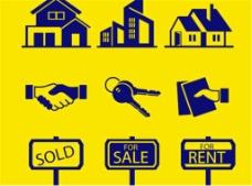 6房地产设计矢量图标