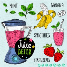 卡通水果榨汁机图片1