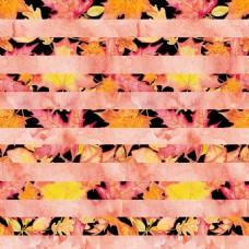 条纹树叶背景图片