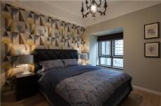 现代家居卧室装修效果图