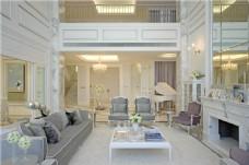 时尚客厅茶几沙发设计图
