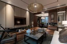 新中式家居客厅装修效果图