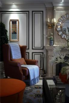 时尚客厅背景墙设计图