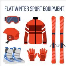 卡通滑雪運動配件用品