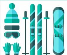 平面滑雪运动用品配件