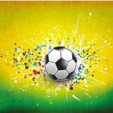 足球广告元素