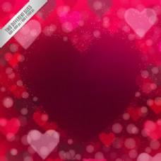 心脏与心背景
