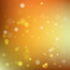 橙色抽象光效背景