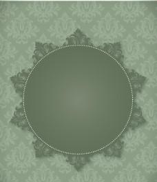 灰色花纹背景