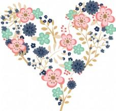 花朵爱情背景