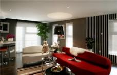 现代客厅沙发设计图