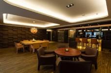 新中式简约餐厅餐桌设计图