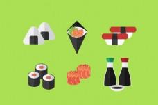 日本寿司宣传活动模板源文件设计