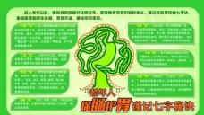 保护肠胃宣传活动模板源文件设计