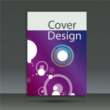 紫色圆环画册图片