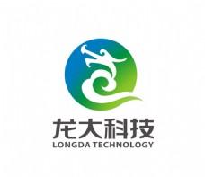 龙大科技标识设计重庆华龙网LO