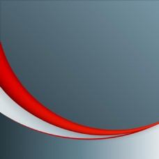 红色流线灰色背景