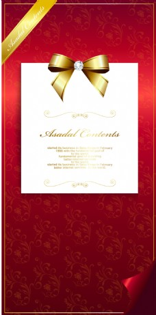 金色圣诞卡片背景