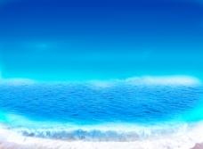 蓝色唯美背景