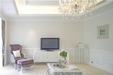 简约客厅电视墙设计图