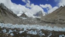 西藏雪山视频实拍景色