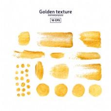 金色涂抹水墨图片