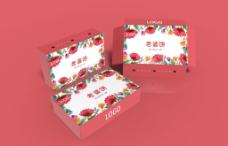 老婆饼12粒装红色包装盒
