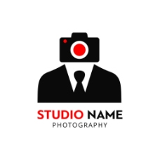 摄影师标志logo设计