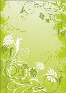 绿色植物背景素材