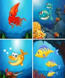 海底世界背景素材