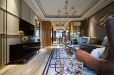 現代家居室內客廳效果圖