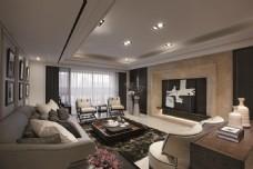 现代简约中式客厅装修效果图